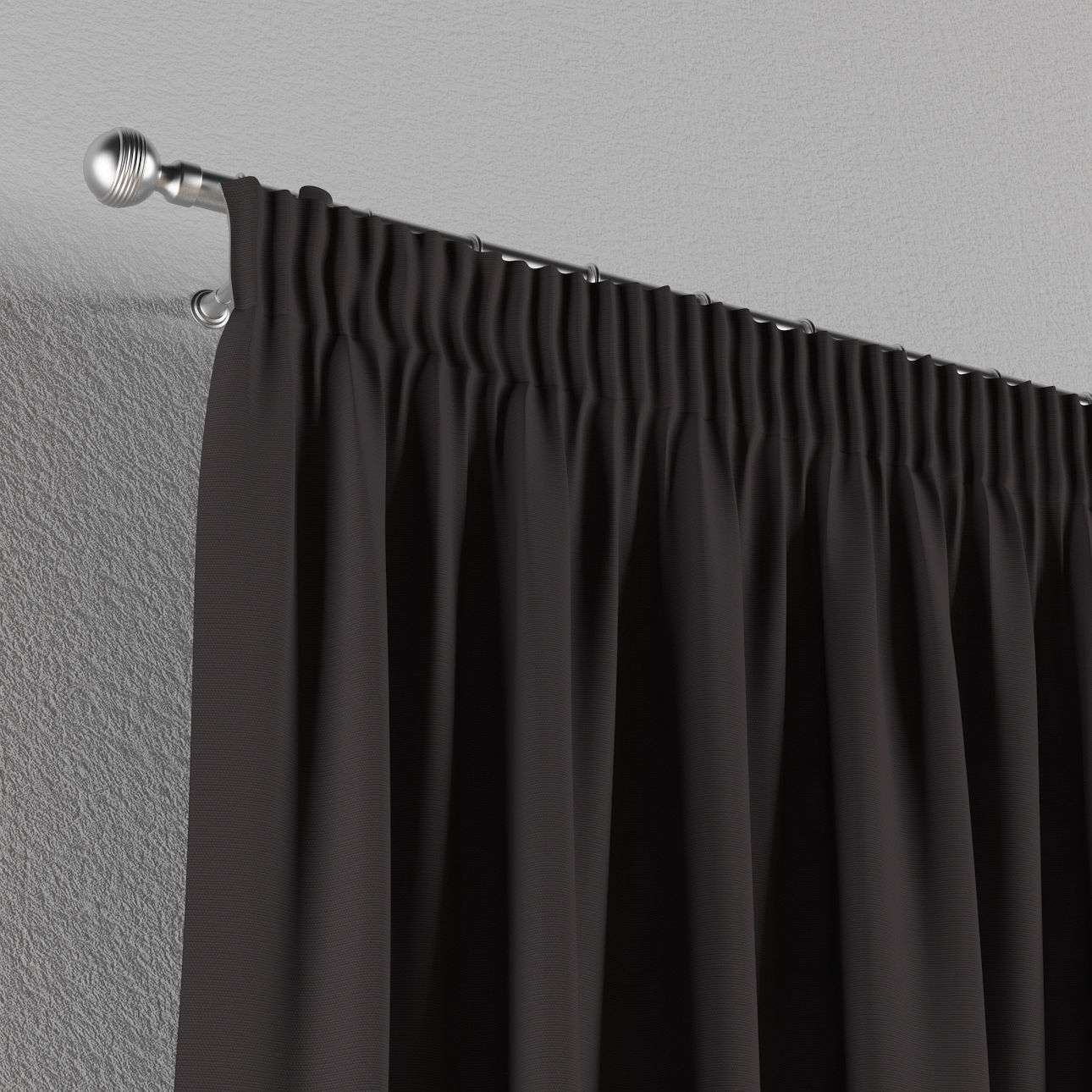 Pieštukinio klostavimo užuolaidos 130 x 260 cm (plotis x ilgis) kolekcijoje Cotton Panama, audinys: 702-09