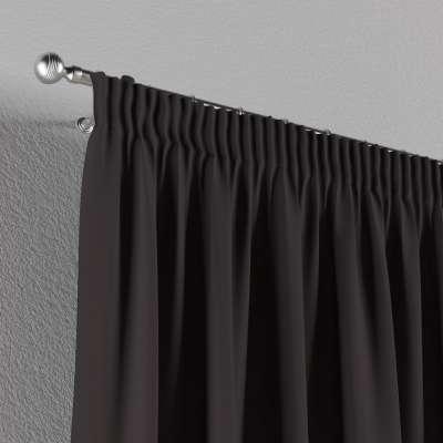 Vorhang mit Kräuselband von der Kollektion Cotton Panama, Stoff: 702-09