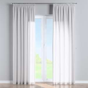 Pencil pleat curtains 130 x 260 cm (51 x 102 inch) in collection Linen , fabric: 392-03