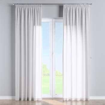 Függöny ráncolóval a kollekcióból Leinen Lakástextil, Dekoranyag: 392-03
