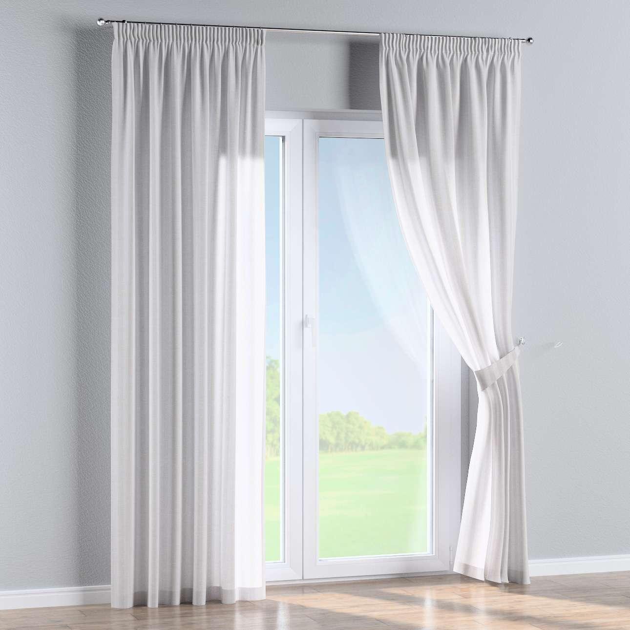 Vorhang Mit Kräuselband, Weiß