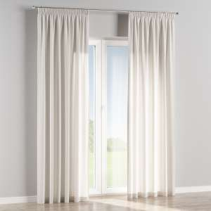 Pencil pleat curtains 130 x 260 cm (51 x 102 inch) in collection Linen , fabric: 392-04