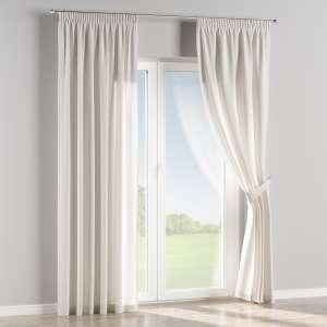 Vorhang mit Kräuselband 130 x 260 cm von der Kollektion Leinen, Stoff: 392-04