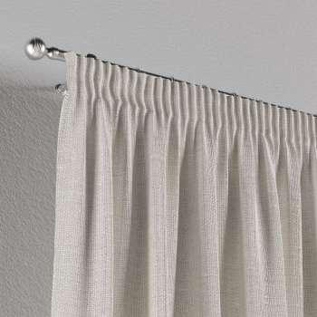 Záves na riasiacej páske V kolekcii Linen, tkanina: 392-04