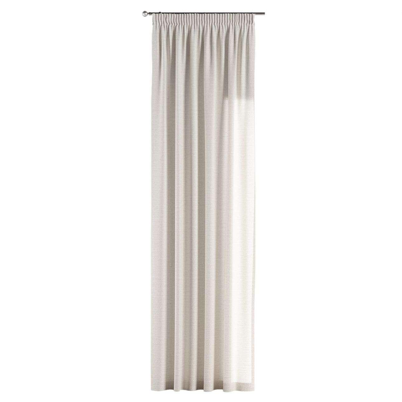 Pieštukinio klostavimo užuolaidos 130 x 260 cm (plotis x ilgis) kolekcijoje Linen , audinys: 392-04