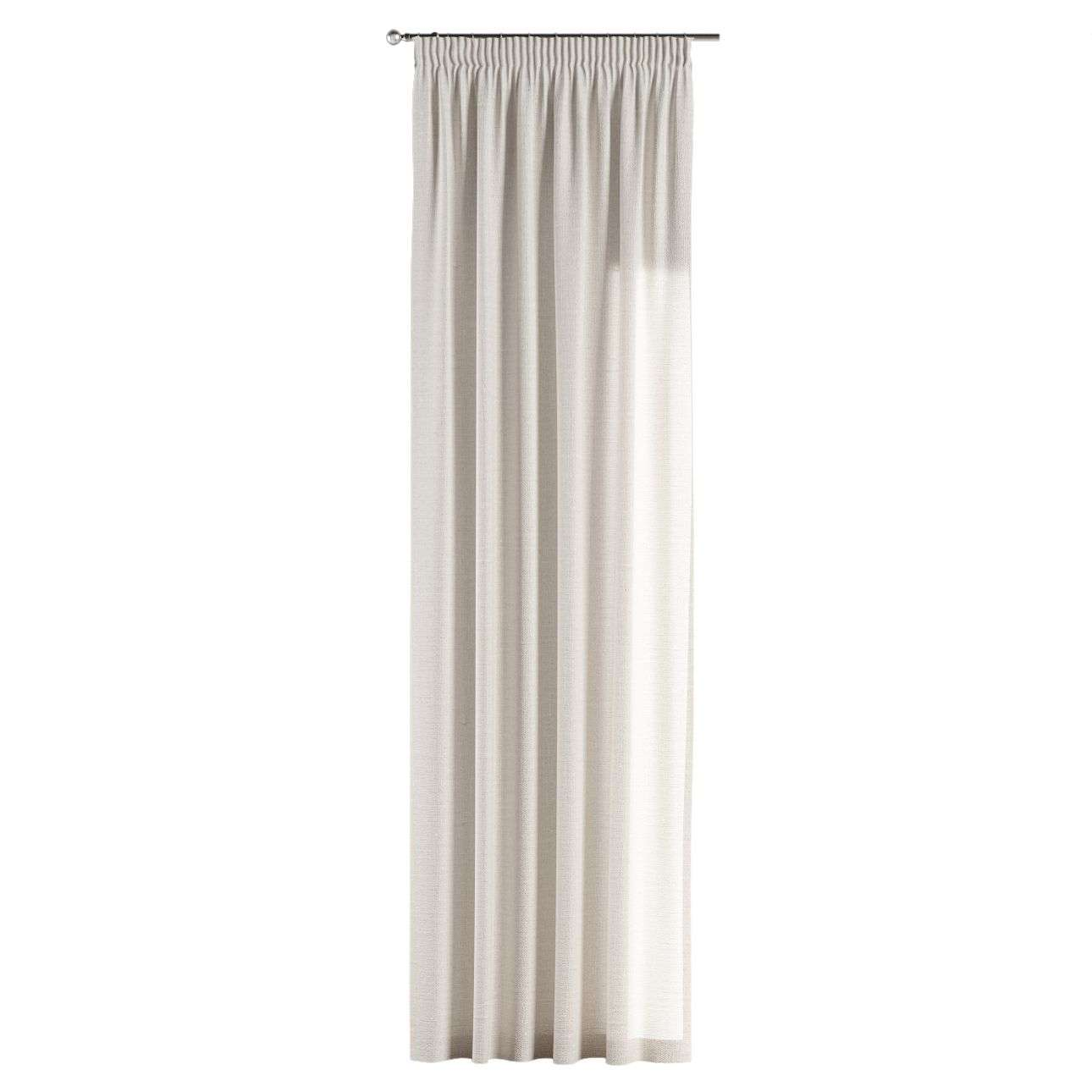 Závěs s řasící páskou 130 x 260 cm v kolekci Linen, látka: 392-04