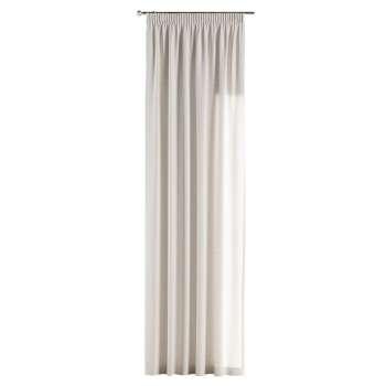 Gardin med rynkebånd 130 x 260 cm fra kollektionen Linen, Stof: 392-04