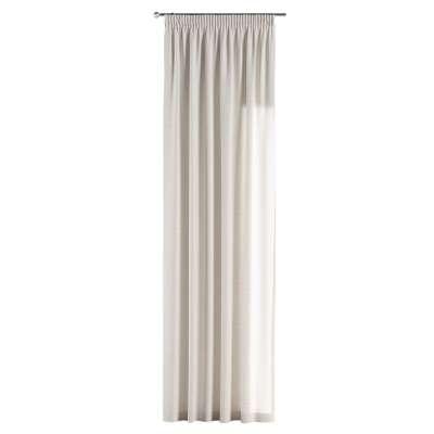 Závěs s řasící páskou v kolekci Linen, látka: 392-04