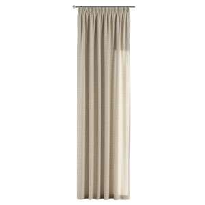 Zasłona na taśmie marszczącej 1 szt. 1szt 130x260 cm w kolekcji Linen, tkanina: 392-05