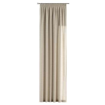 Gardin med rynkebånd 130 x 260 cm fra kollektionen Linen, Stof: 392-05