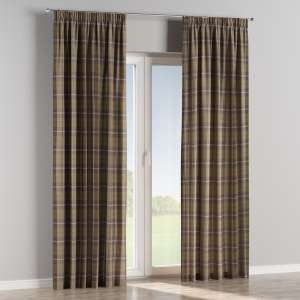 Pencil pleat curtains 130 x 260 cm (51 x 102 inch) in collection Edinburgh , fabric: 115-76