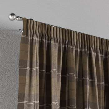 Pencil pleat curtains 130 x 260 cm (51 x 102 inch) in collection Edinburgh, fabric: 115-76