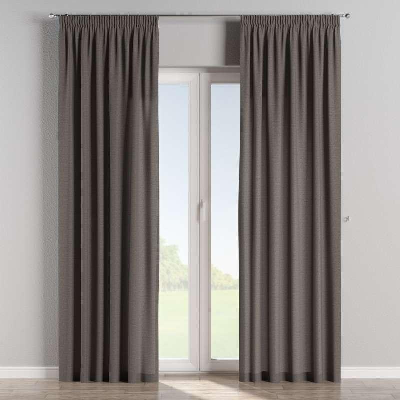 Pencil pleat curtain in collection Edinburgh, fabric: 115-77