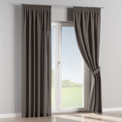 Pencil pleat curtains in collection Edinburgh, fabric: 115-77
