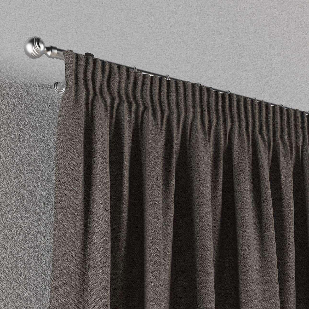 Vorhang mit Kräuselband von der Kollektion Edinburgh , Stoff: 115-77