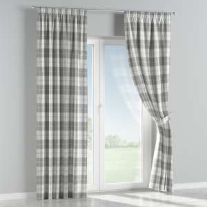 Pencil pleat curtains 130 x 260 cm (51 x 102 inch) in collection Edinburgh , fabric: 115-79
