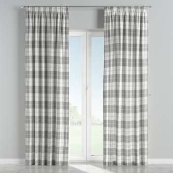 Pencil pleat curtains 130 x 260 cm (51 x 102 inch) in collection Edinburgh, fabric: 115-79