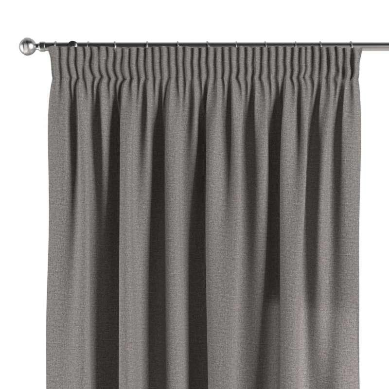 Pencil pleat curtain in collection Edinburgh, fabric: 115-81