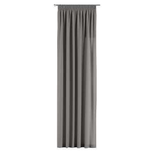 Gardin med rynkband 1 längd 130 x 260 cm i kollektionen Edinburgh , Tyg: 115-81