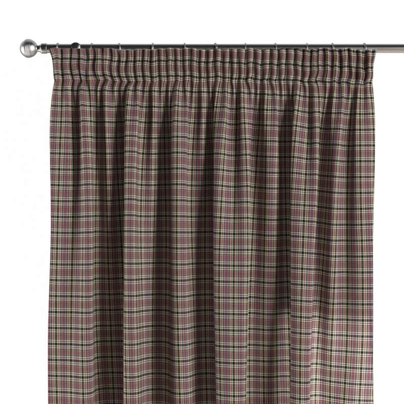 Pencil pleat curtains in collection Bristol, fabric: 126-32