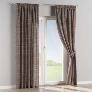 Pencil pleat curtains 130 x 260 cm (51 x 102 inch) in collection Bristol, fabric: 126-32
