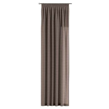 Pencil pleat curtains 130 × 260 cm (51 × 102 inch) in collection Bristol, fabric: 126-32