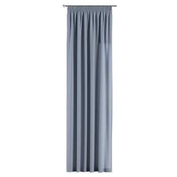 Gardin med rynkband 1 längd i kollektionen Chenille, Tyg: 702-13