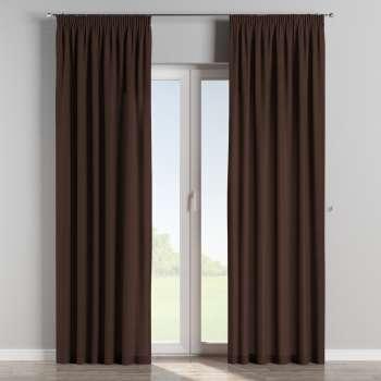 Függöny ráncolóval 130 x 260 cm a kollekcióból Bútorszövet CHENILLE, Dekoranyag: 702-18