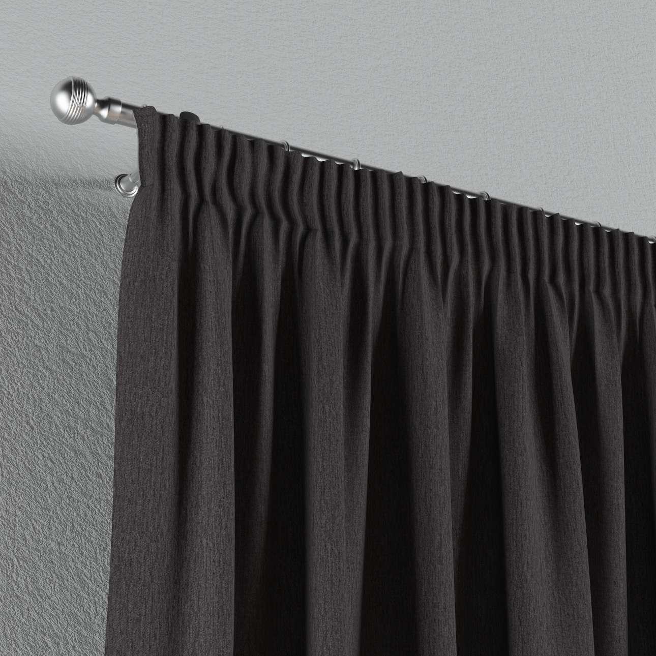 Pieštukinio klostavimo užuolaidos 130 x 260 cm (plotis x ilgis) kolekcijoje Chenille, audinys: 702-20