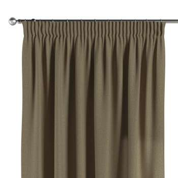 Pencil pleat curtains 130 × 260 cm (51 × 102 inch) in collection Chenille, fabric: 702-21