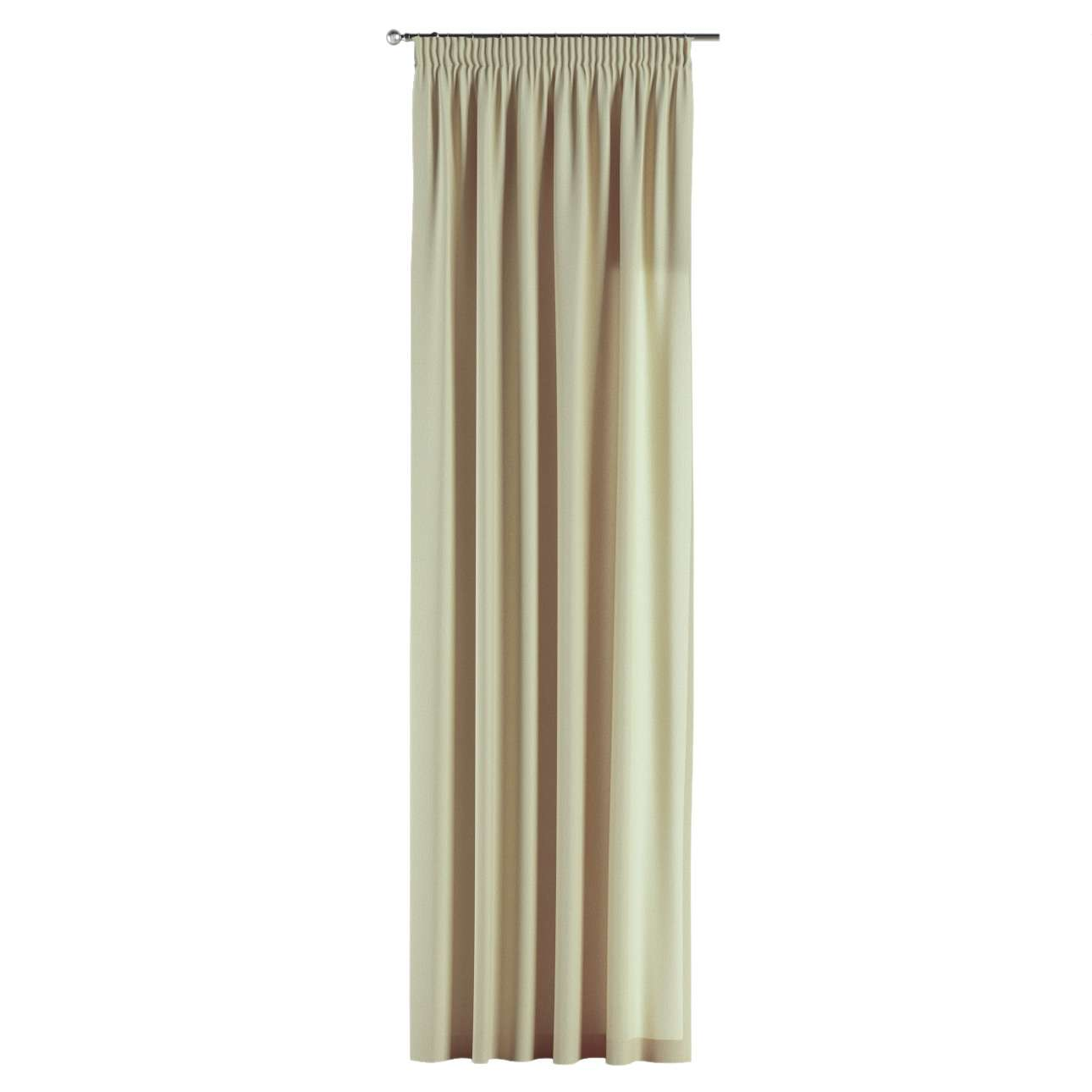 Pencil pleat curtains 130 × 260 cm (51 × 102 inch) in collection Chenille, fabric: 702-22