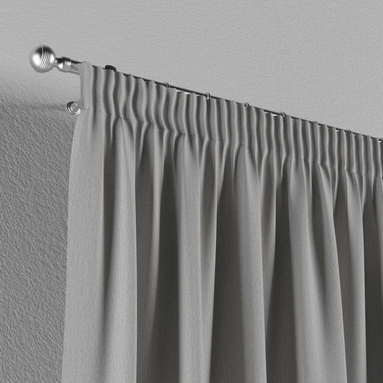 Vorhang mit Kräuselband von der Kollektion Chenille , Stoff: 702-23