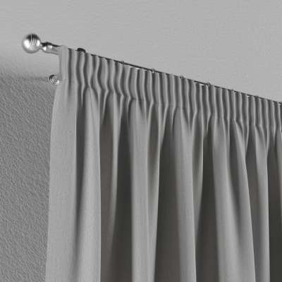 Pencil pleat curtains in collection Chenille, fabric: 702-23