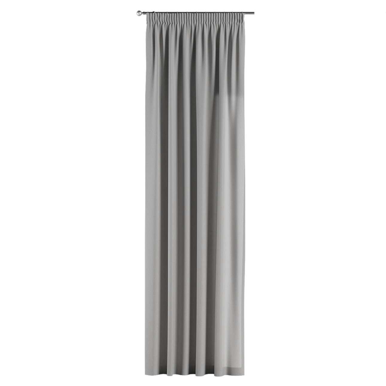 Gardin med rynkebånd 130 x 260 cm fra kollektionen Chenille, Stof: 702-23