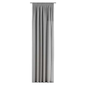 Gardin med rynkband 1 längd i kollektionen Chenille, Tyg: 702-23