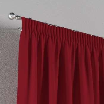 Vorhang mit Kräuselband von der Kollektion Chenille , Stoff: 702-24