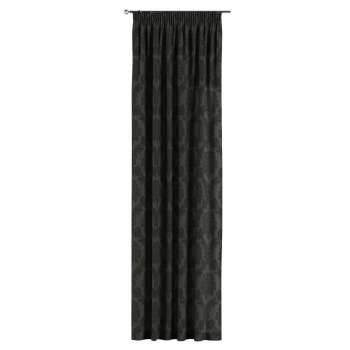 Pencil pleat curtains 130 x 260 cm (51 x 102 inch) in collection Damasco, fabric: 613-32