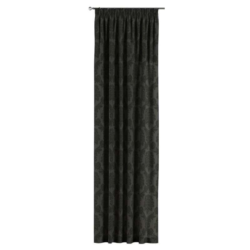 Vorhang mit Kräuselband von der Kollektion Damasco, Stoff: 613-32