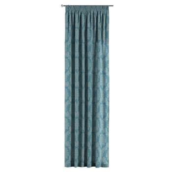 Záves na riasiacej páske 130 x 260 cm V kolekcii Damasco, tkanina: 613-67