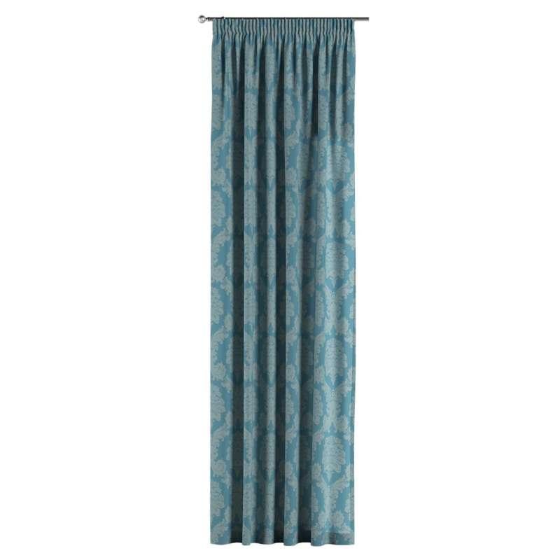Vorhang mit Kräuselband von der Kollektion Damasco, Stoff: 613-67