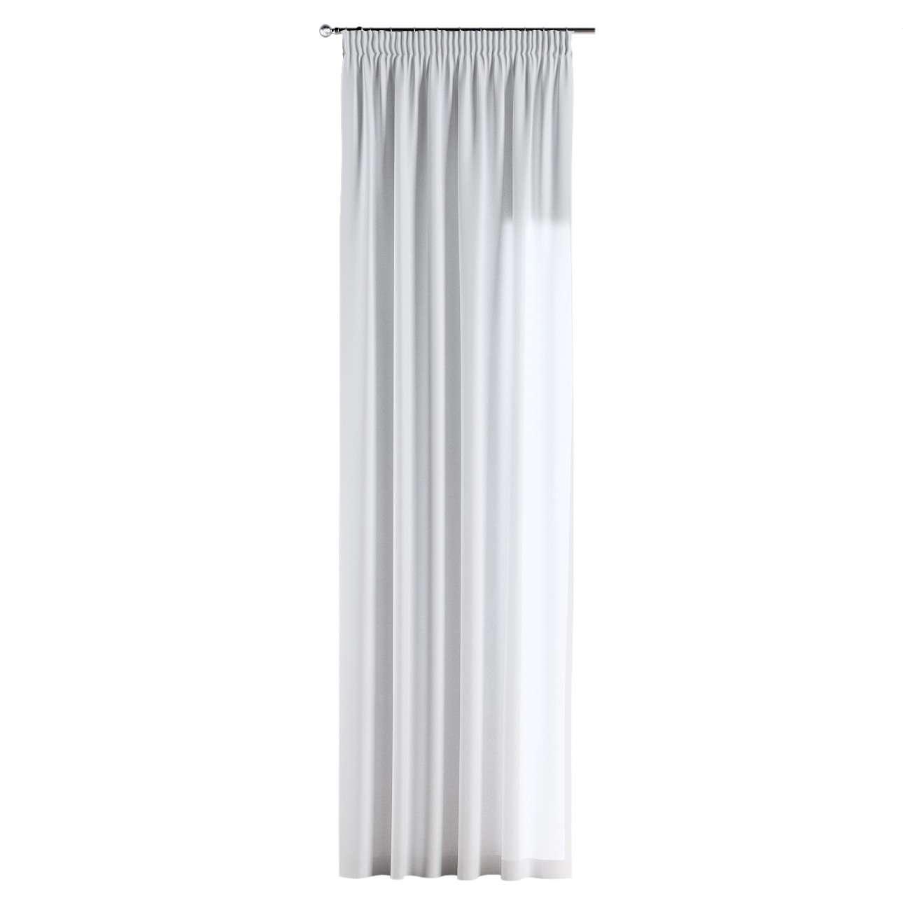 Gardin med rynkebånd 130 × 260 cm fra kollektionen Loneta, Stof: 133-02