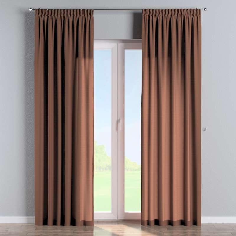 Függöny ráncolóval a kollekcióból Loneta Lakástextil, Dekoranyag: 133-09