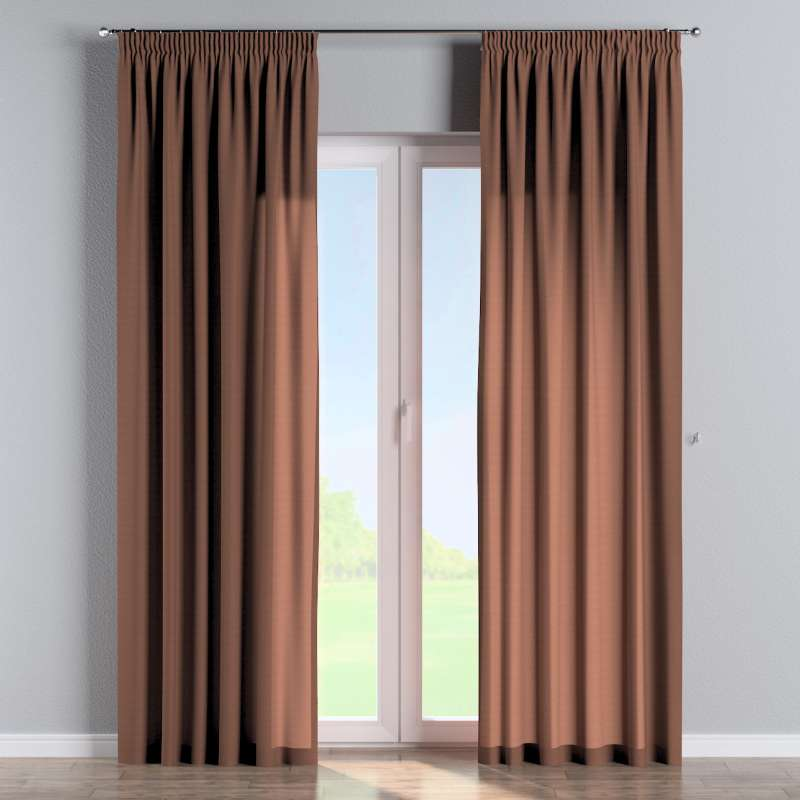 Pencil pleat curtain in collection Loneta , fabric: 133-09