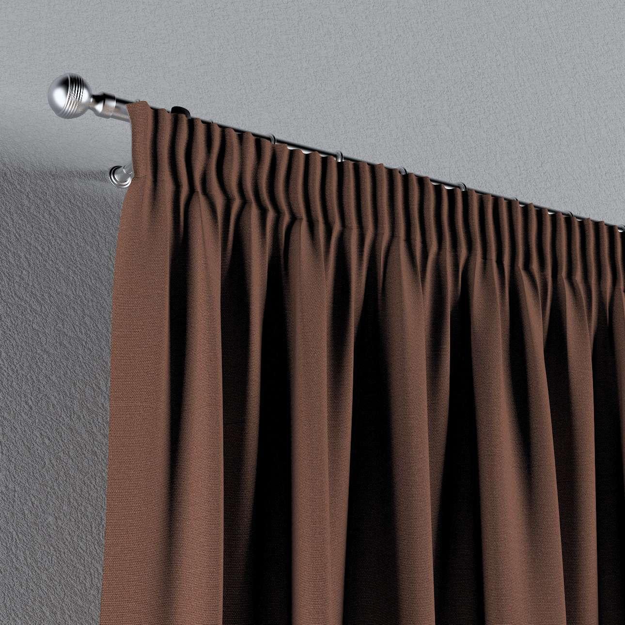 Záves na riasiacej páske 130 × 260 cm V kolekcii Loneta, tkanina: 133-09