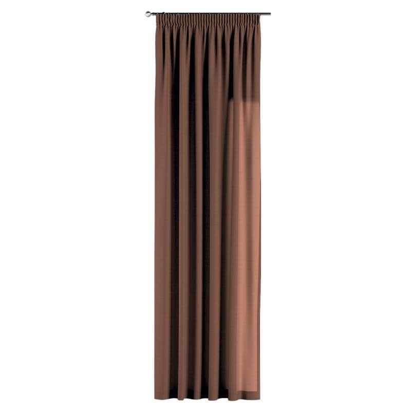 Vorhang mit Kräuselband von der Kollektion Loneta, Stoff: 133-09