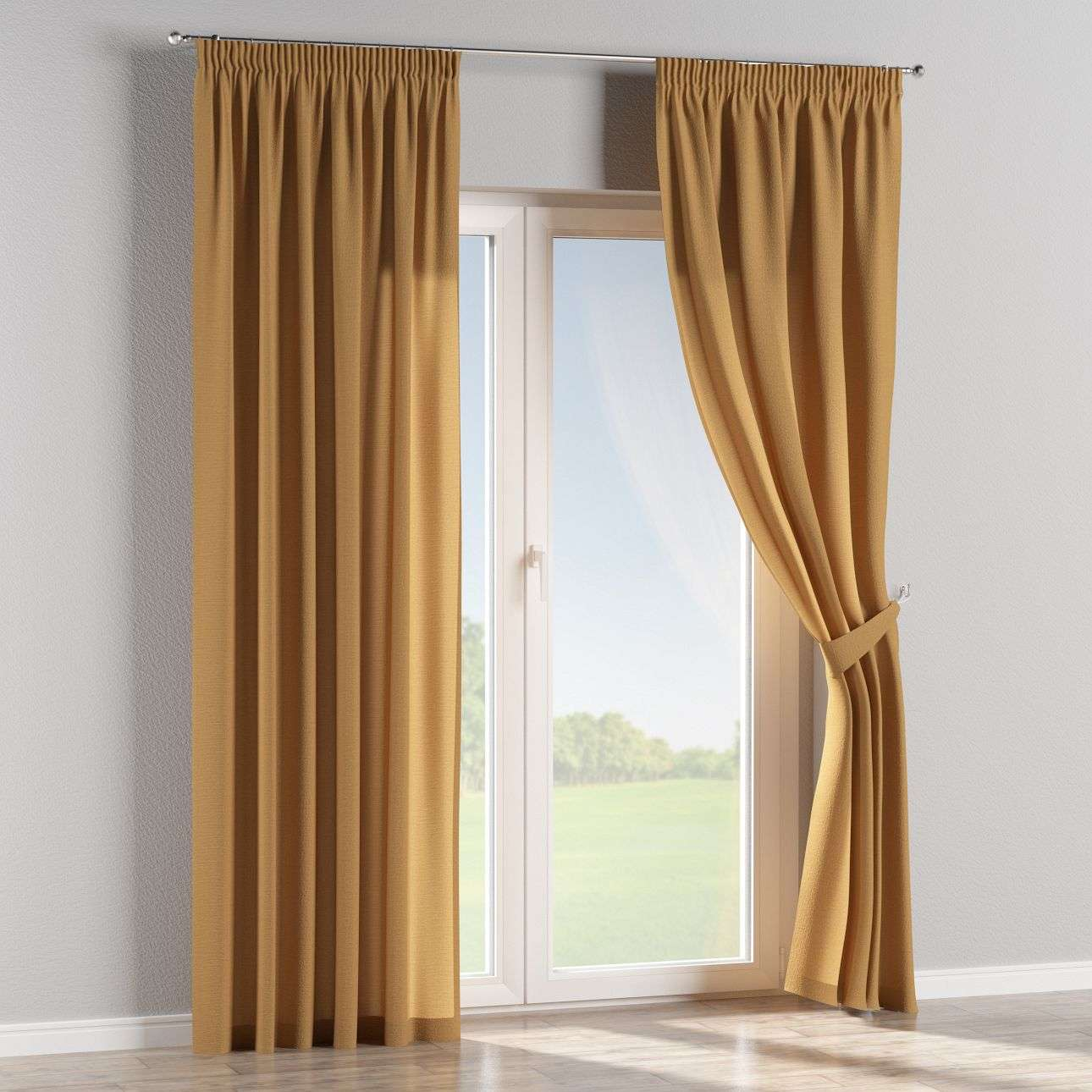 Pencil pleat curtains in collection Loneta , fabric: 133-12