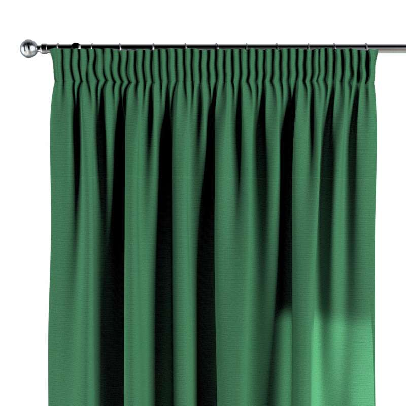 Pencil pleat curtain in collection Loneta , fabric: 133-18
