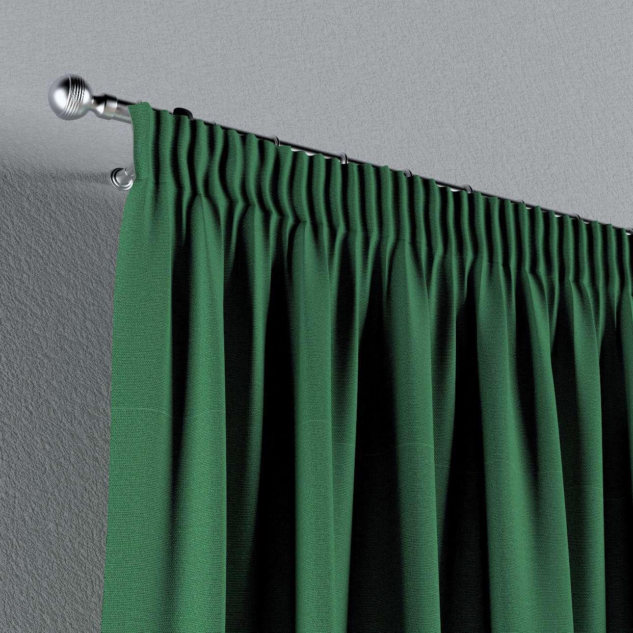 Vorhang mit Kräuselband 130 x 260 cm von der Kollektion Loneta, Stoff: 133-18