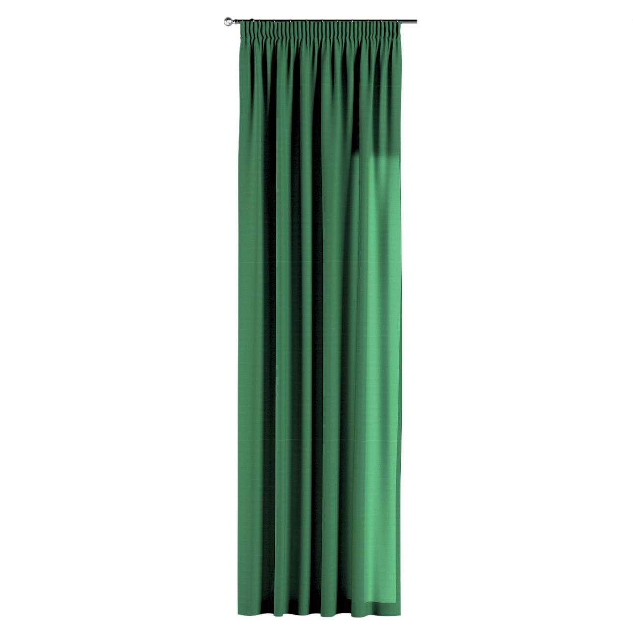 Zasłona na taśmie marszczącej 1 szt. 1szt 130x260 cm w kolekcji Loneta, tkanina: 133-18