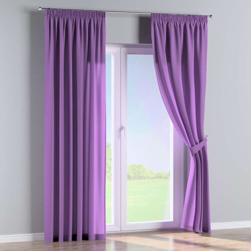 Pencil pleat curtain in collection Loneta , fabric: 133-19